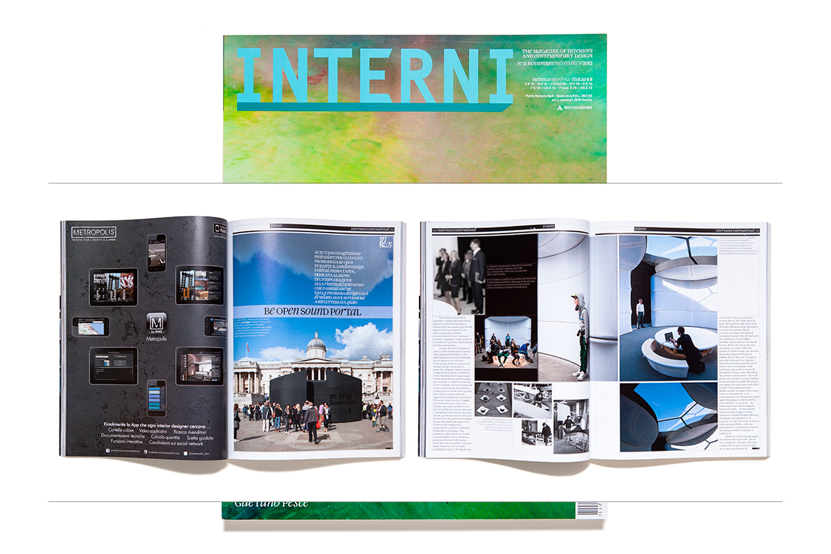 Tom Graham photographs in Interni magazine.