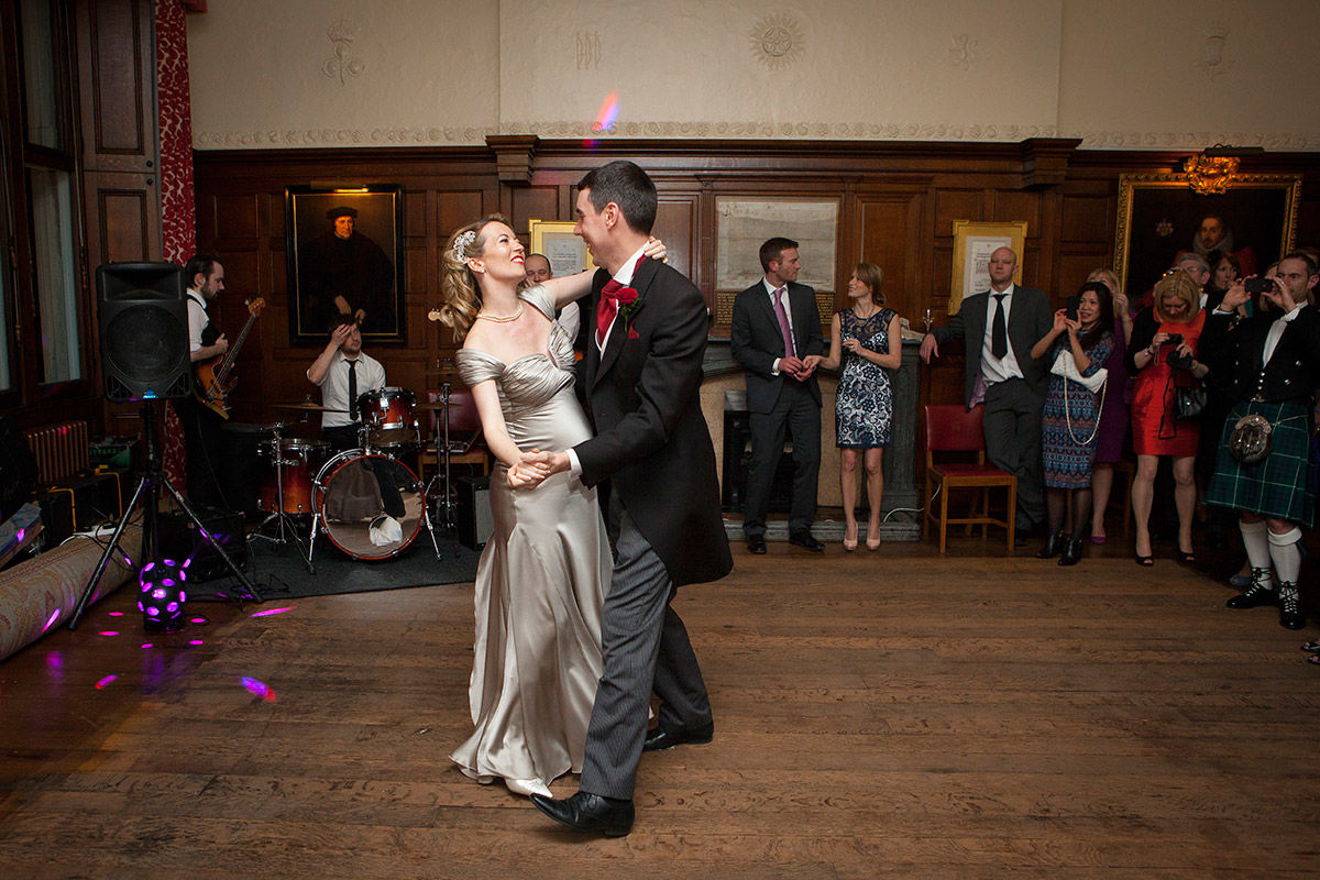 Wedding photography - First dance.