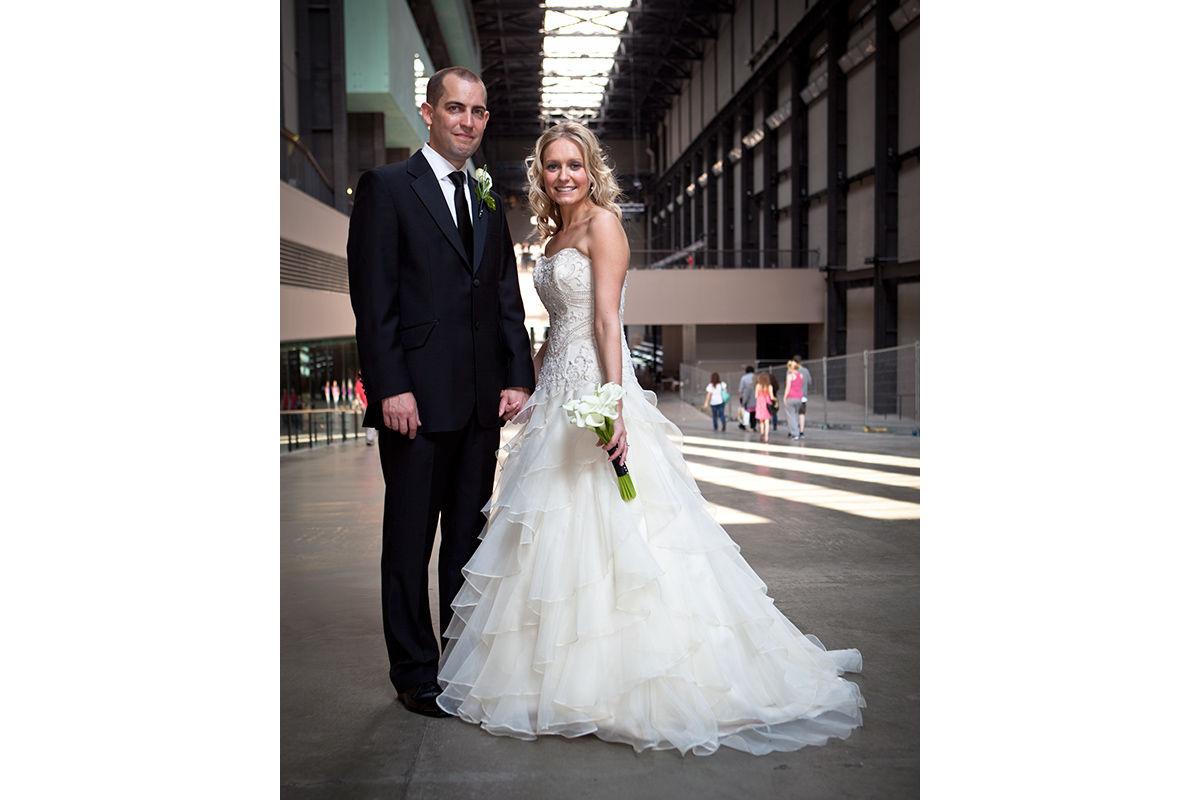 Wedding photography - the happy couple.