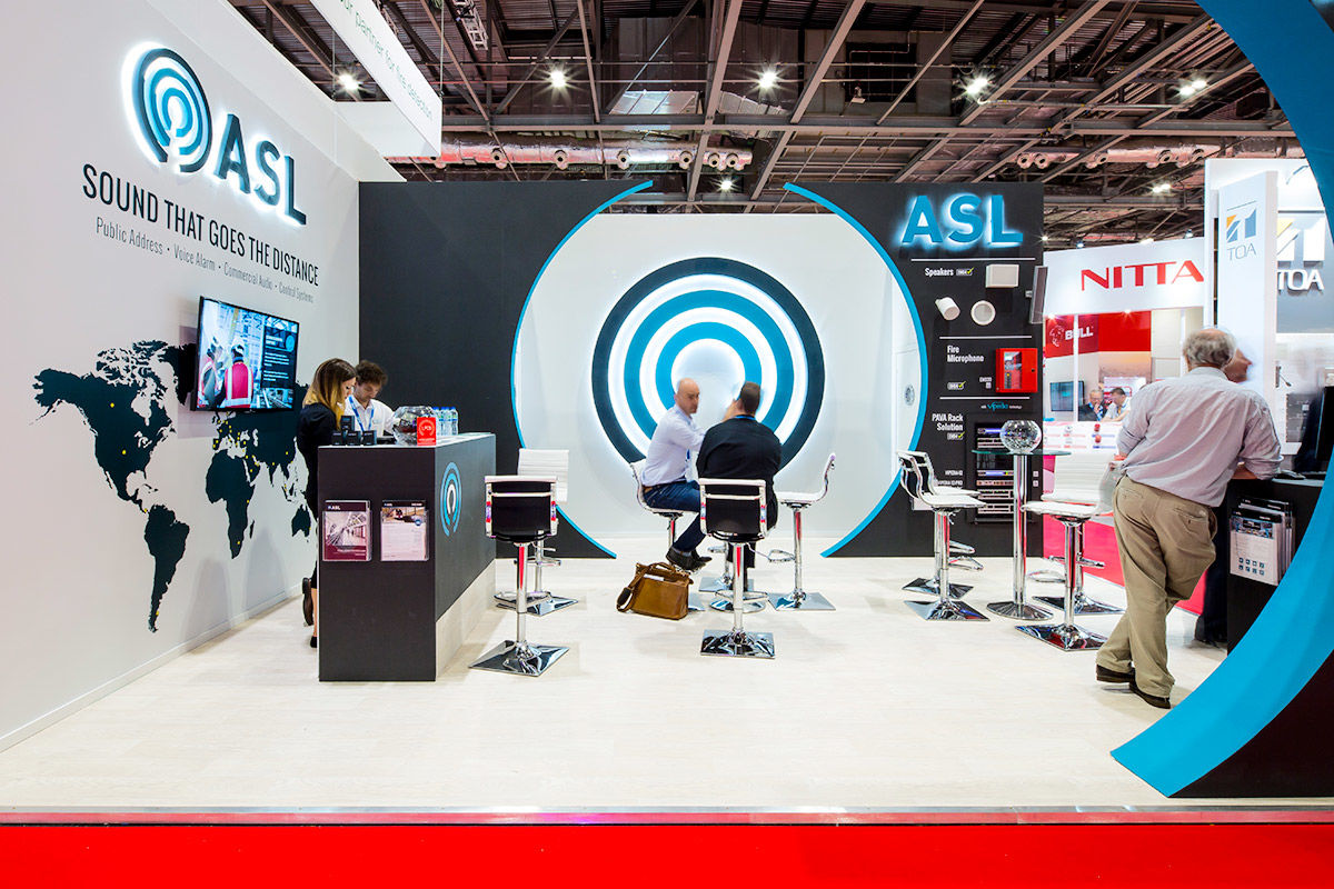 Excel, exhibition, event, stand, Tom Graham Creative