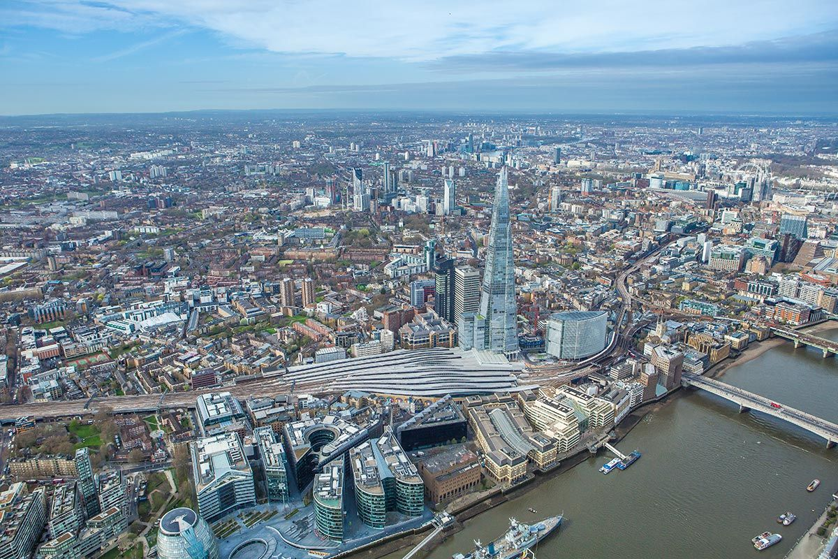 Aerial photo London Bridge Quarter.