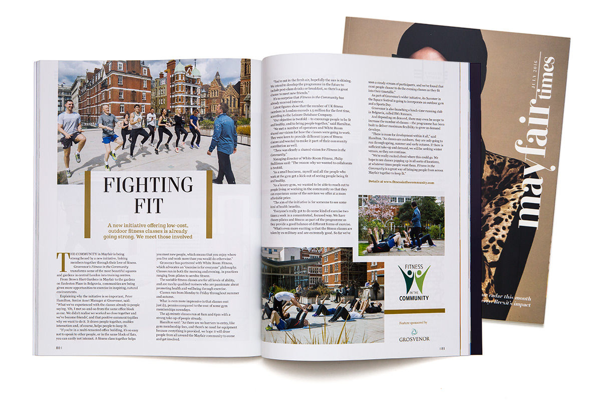 Tom's photographs appear in publications across the world.