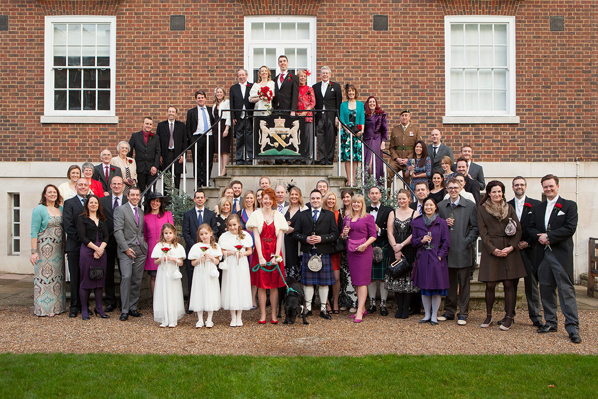 Wedding photography - Family and friends.